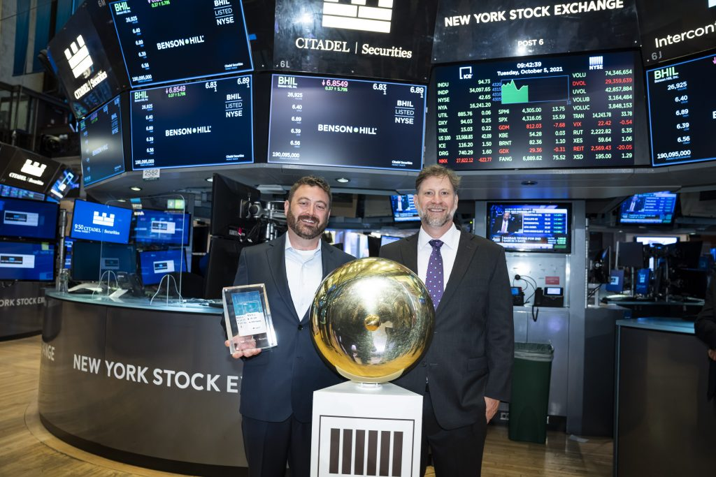 Benson Hill Rings the Opening Bell on NYSE